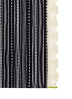 'Cruise' ikat crochet handwoven blanket