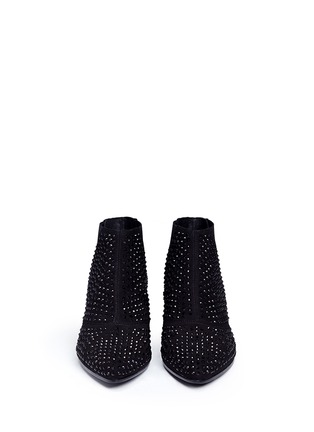 Figure View - Click To Enlarge - Ash - 'Hypnotic' crystal suede booties