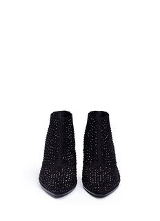 ASH'Hypnotic' crystal suede booties