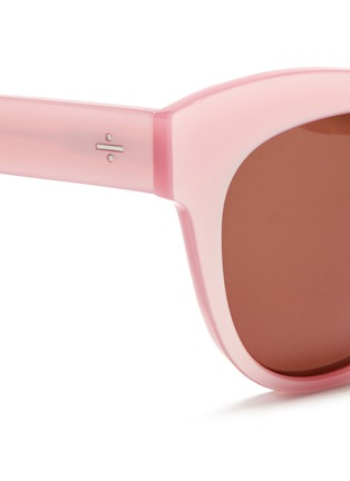 Detail View - Click To Enlarge - BLANC & ECLARE - 'Paris' pearlescent acetate cat eye sunglasses