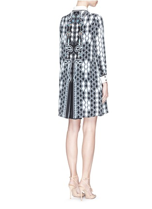 Peter Pilotto - 'Ace' digital pinball print silk shirt dress