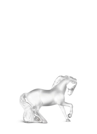 Main View - Click To Enlarge - Lalique - Mistral crystal horse sculpture