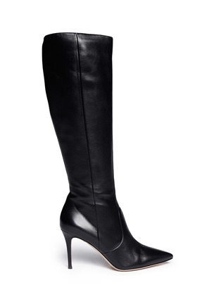 Main View - Click To Enlarge - Gianvito Rossi - Point toe leather boots