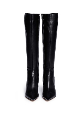 Figure View - Click To Enlarge - Gianvito Rossi - Point toe leather boots