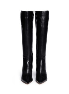 GIANVITO ROSSI Point toe leather boots