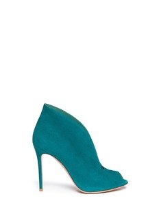 GIANVITO ROSSI V-throat suede booties