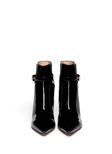 GIANVITO ROSSI Patent leather Chelsea boots