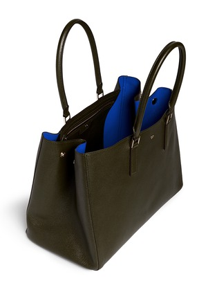Detail View - Click To Enlarge - Anya Hindmarch - 'Ebury Large Featherweight' leather tote