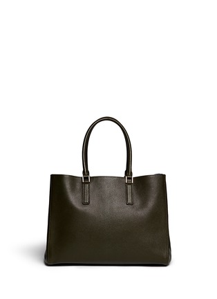 Back View - Click To Enlarge - Anya Hindmarch - 'Ebury Large Featherweight' leather tote