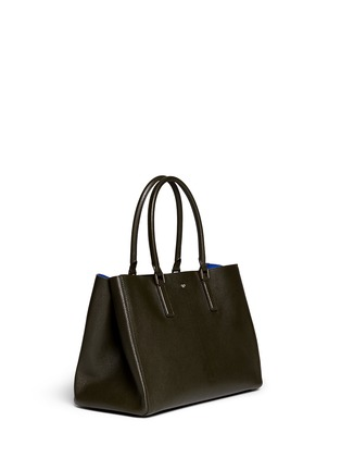 Front View - Click To Enlarge - Anya Hindmarch - 'Ebury Large Featherweight' leather tote