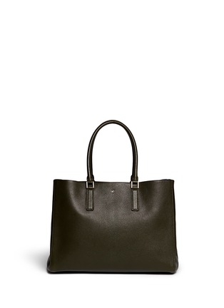 Main View - Click To Enlarge - Anya Hindmarch - 'Ebury Large Featherweight' leather tote