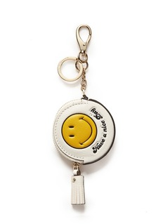 ANYA HINDMARCH 'Smiley' coin purse keychain