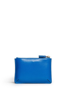 ANYA HINDMARCH'Happy Birthday Loose Pocket' small leather pouch