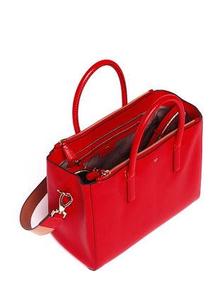 Detail View - Click To Enlarge - Anya Hindmarch - 'Ebury' small soft leather tote