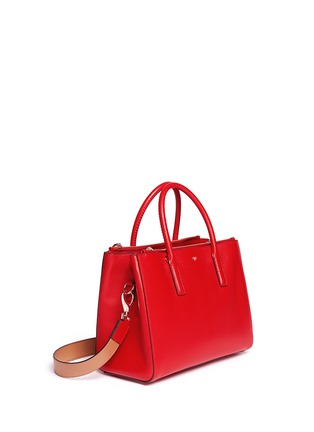 Front View - Click To Enlarge - Anya Hindmarch - 'Ebury' small soft leather tote