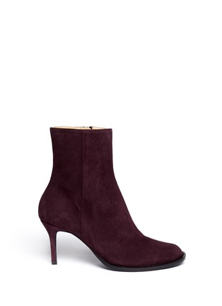 Main View - Click To Enlarge - ANN DEMEULEMEESTER - Suede ankle boots