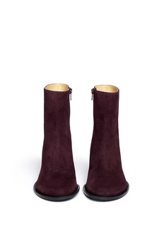 ANN DEMEULEMEESTER Suede ankle boots