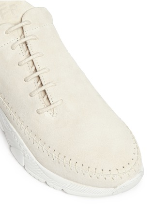 Detail View - Click To Enlarge - Filling Pieces - 'Apache Runner' suede sneakers