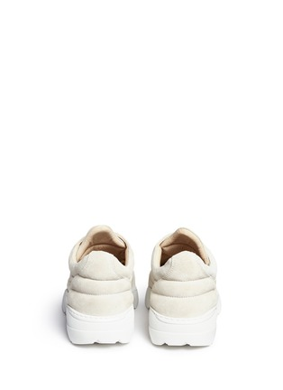 Back View - Click To Enlarge - Filling Pieces - 'Apache Runner' suede sneakers