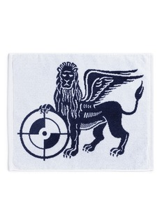 Powers Lion target logo towel