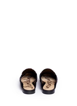 Back View - Click To Enlarge - Sam Edelman - 'Paris' tassel blossom jacquard slide loafers