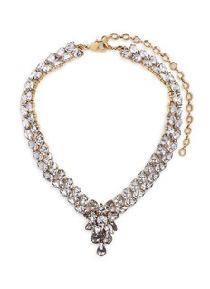 Erickson Beamon 'Parlor Trick' 24k gold plated Swarovski crystal necklace