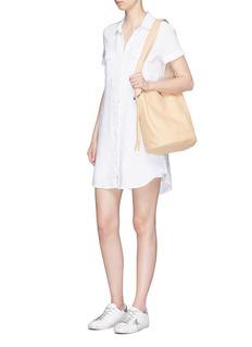 James Perse'Utility' linen shirt dress