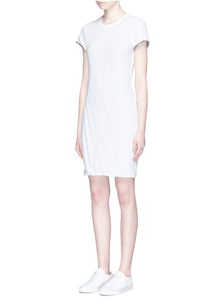 Front View - Click To Enlarge - James Perse - Recycled cotton vintage T-shirt dress