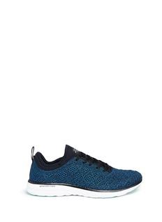 Athletic Propulsion Labs'TechLoom Phantom' metallic knit sneakers