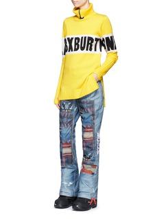 Burtonx L.A.M.B. 'Buju' patchwork denim print cargo snowboard pants