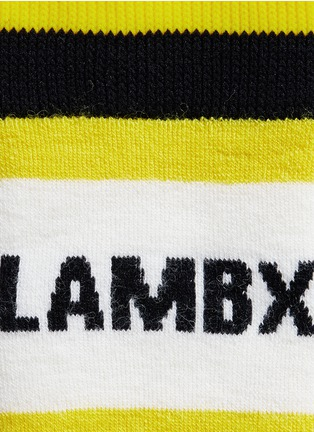 Detail View - Click To Enlarge - Burton - x L.A.M.B. 'Party' intarsia socks