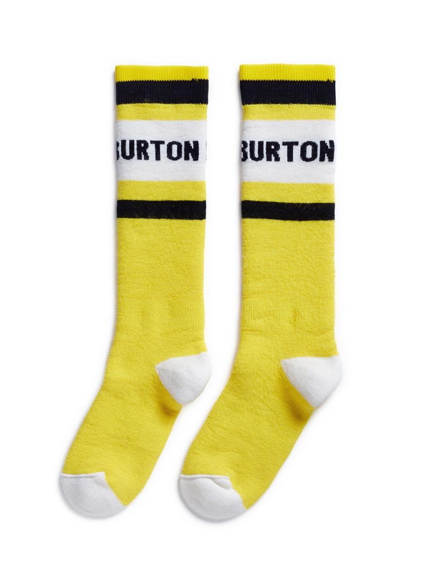 x L.A.M.B. Party intarsia socks by Burton