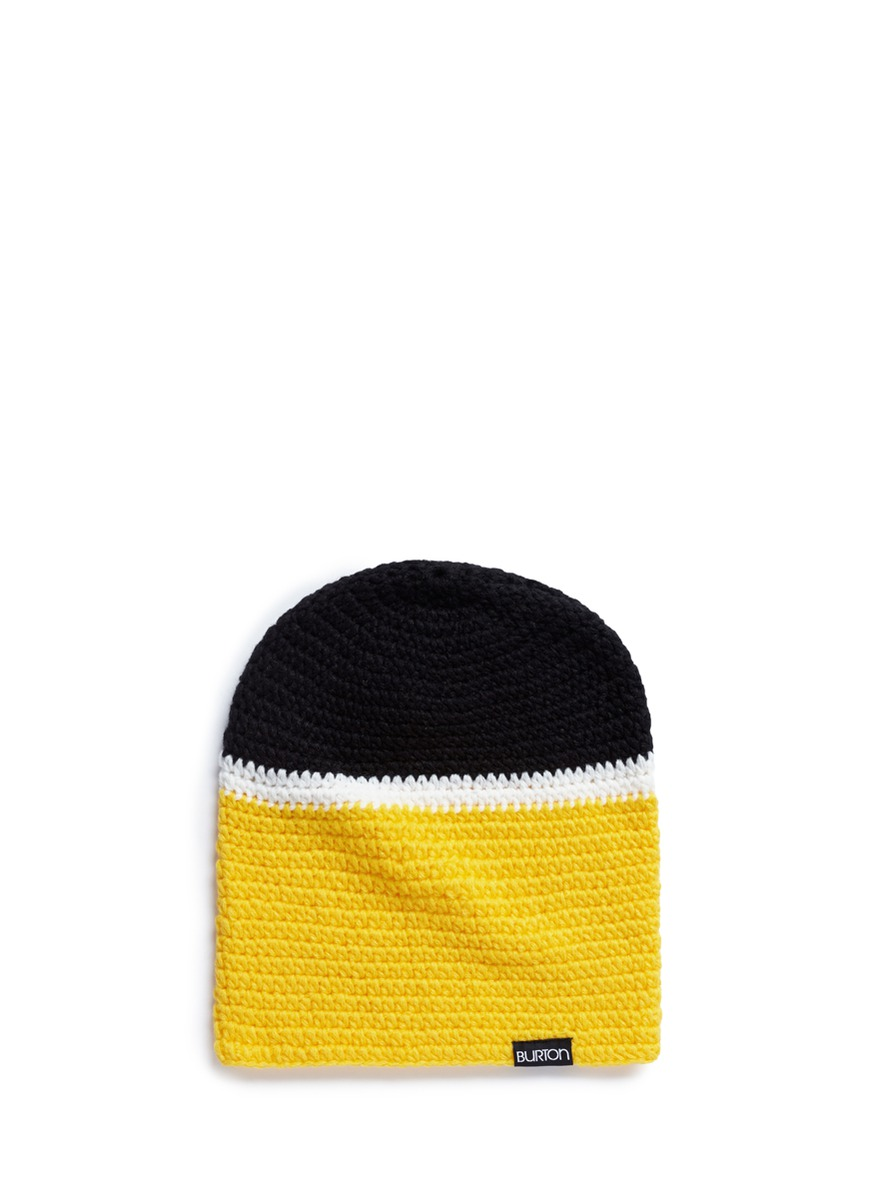 x L.A.M.B. Irie stripe knit beanie by Burton