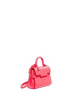 Delvaux'Tempête Micro' patent leather crossbody bag