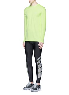 Athletic Propulsion Labs 'Rise' neon stripe running tights