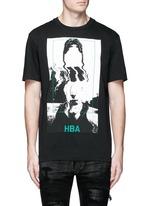 'Montgomery' face print cotton T-shirt