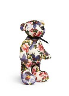 MS MINFloral felt big teddy bear