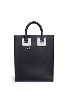 Sophie Hulme 'Albion' rectangle leather box tote