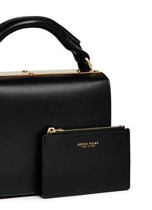 - Sophie Hulme - 'Finsbury' leather shoulder bag