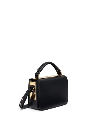 Front View - Click To Enlarge - Sophie Hulme - 'Finsbury' leather shoulder bag