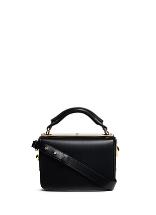 Main View - Click To Enlarge - Sophie Hulme - 'Finsbury' leather shoulder bag