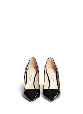 Front View - Click To Enlarge - Jimmy Choo - 'Romy' patent leather pumps