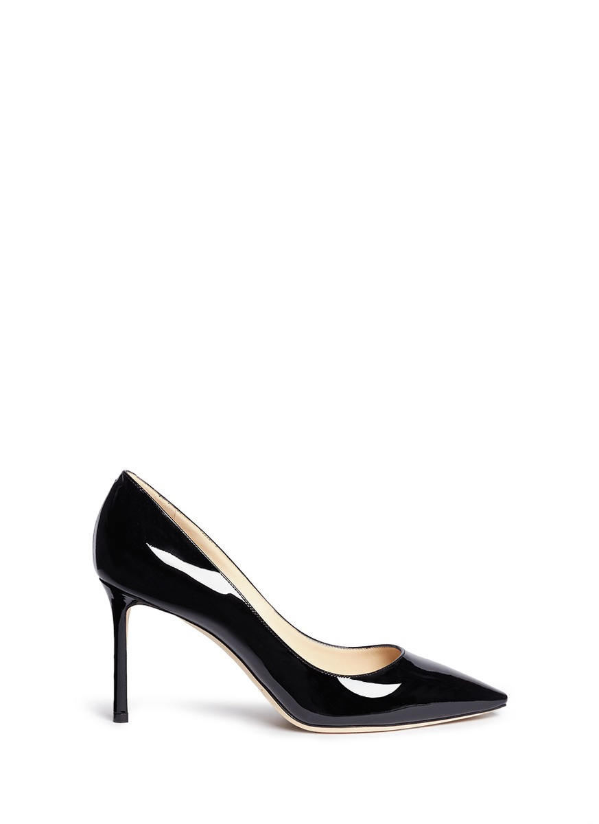 Romy patent leather pumps by Jimmy Choo