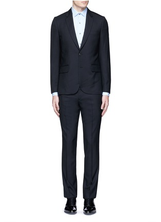 Main View - Click To Enlarge - Paul Smith - 'Soho' wool travel suit