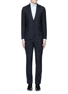 Paul Smith London 'Soho' wool travel suit