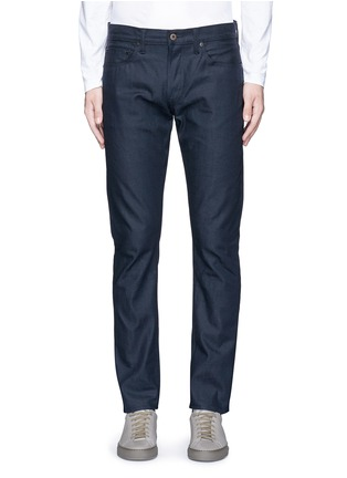 Detail View - Click To Enlarge - Simon Miller - 'Gunnison' dark indigo slim cotton jeans