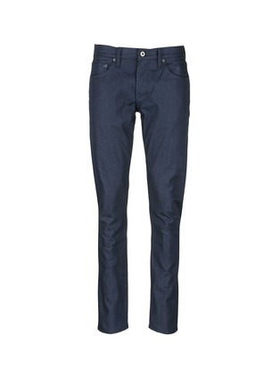 Main View - Click To Enlarge - Simon Miller - 'Gunnison' dark indigo slim cotton jeans