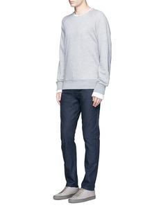 Simon Miller'Gunnison' dark indigo slim cotton jeans
