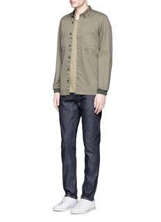 Simon Miller'M001' slim fit raw selvedge jeans