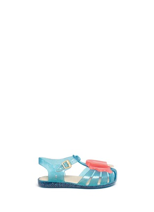 Main View - Click To Enlarge - Melissa - 'Aranha' popsicle PVC toddler sandals